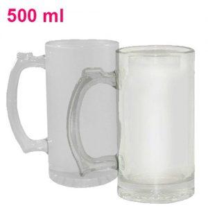 Kufel szklany prosty