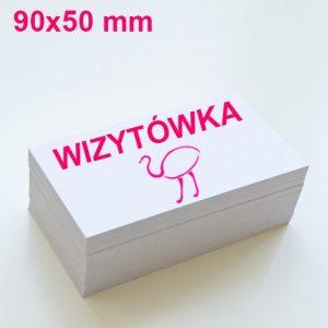 Wizytówki 90×50 mm