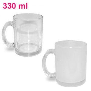 Kubek szklany z nadrukiem 330ml